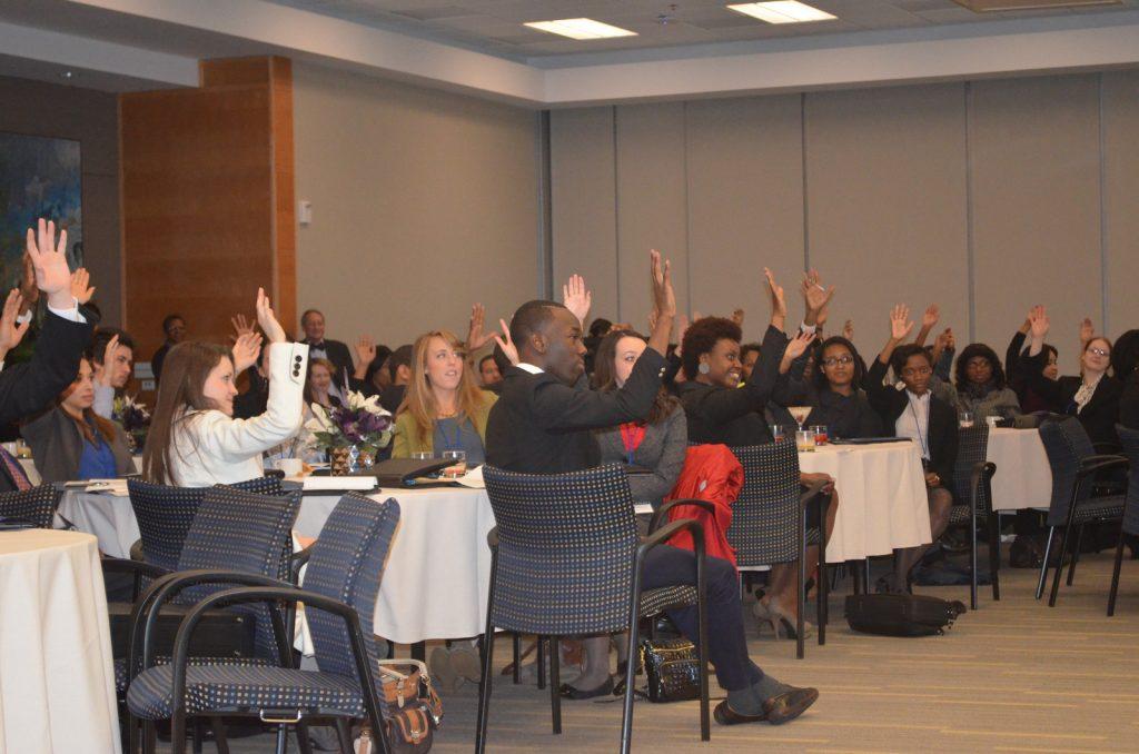 MCW Participants Asking Panel Questions