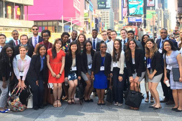 2016 IRTS Fellow in Times Square