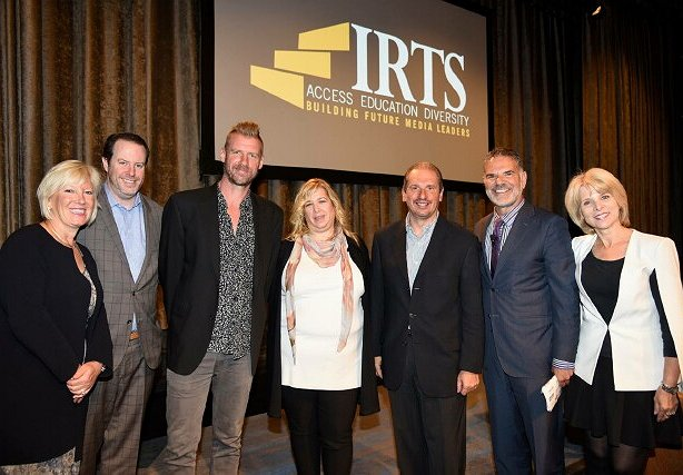 2016 IRTS Newsmaker panelists, group shot