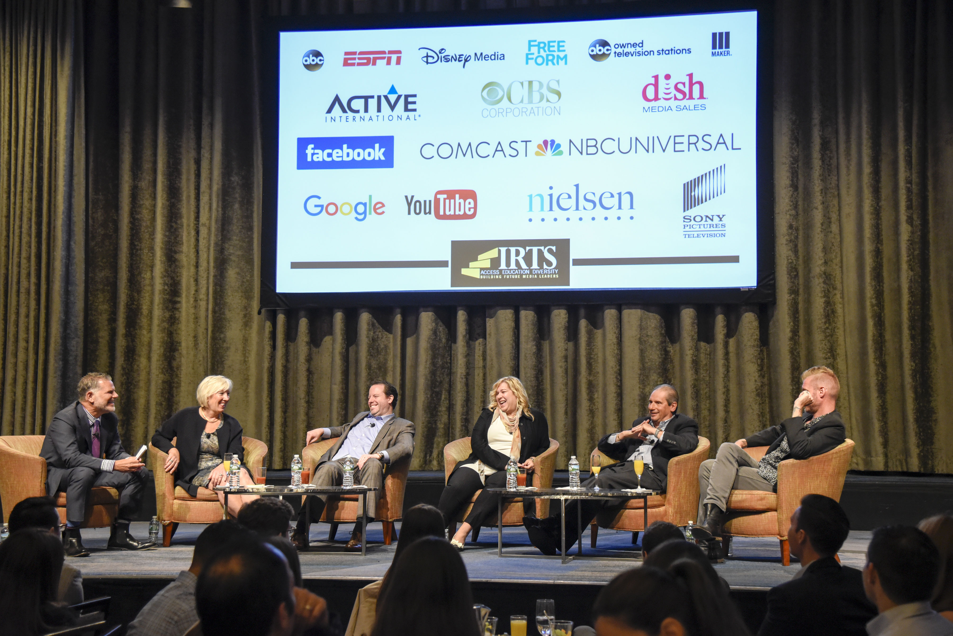 IRTS Newsmaker Breakfast: Media Buyers Stage