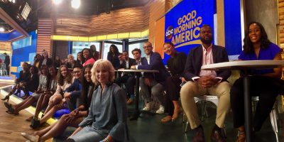 2017 IRTS Fellows and IRTS staff at Good Morning America