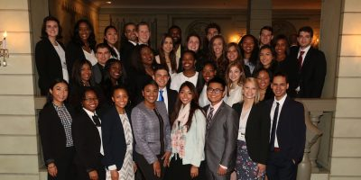 2017 Fellows at Newsmaker Breakfast