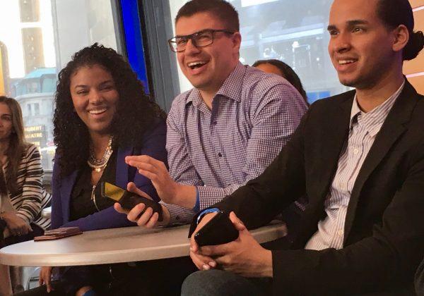 GMA. Imelda Burgan, Michael Tatar, & Kevin Abreu