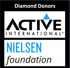 IRTS Diamond Donors, Active International and The Nielsen Foundation