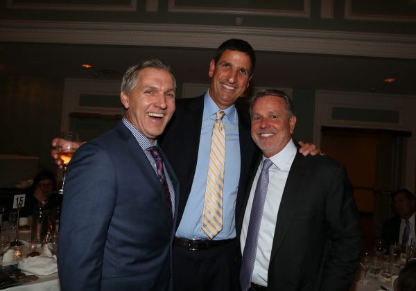 Bruce Lefkowitz at the 2017 Hall of Mentorship Dinner