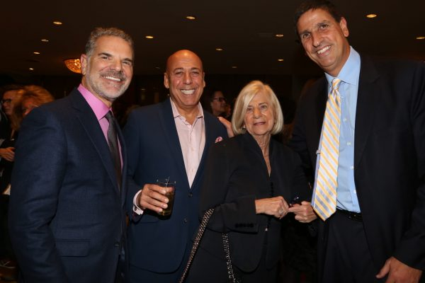 Jack Myers, Alan Brown, Peggy Green, & Bruce Lefkowitz at 2017 Hall of Mentorship