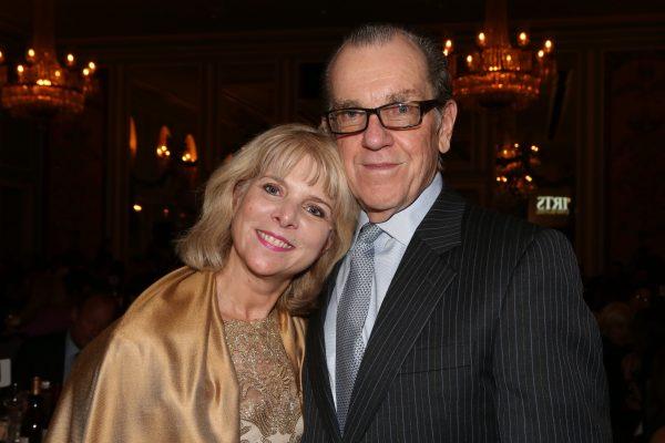 Joyce Tudryn & David Poltrack at 2017 Hall of Mentorship