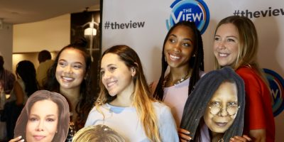 2018 IRTS Fellows Amanda Brown, Victoria Alsina, Sahara Gipson, & Danielle Clark at The View