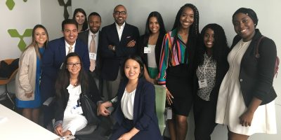 2018 Fellows with Nelson Boyce at Google