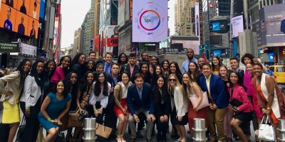 2018 IRTS Fellows in Times Square