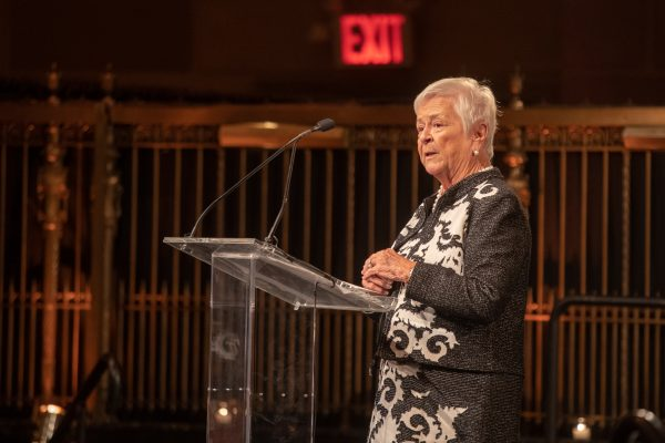 2018 Giants of Broadcasting honoree Elizabeth Murphy Burns