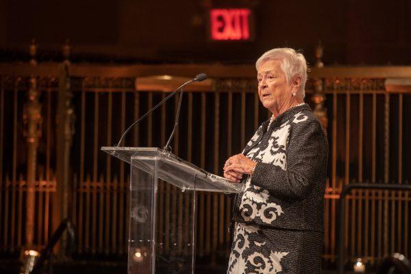 2018 Giants of Broadcasting honoree Elizabeth Murphy Burns