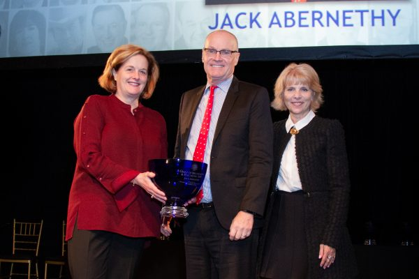 2018 Giants of Broadcasting honoree Jack Abernethy