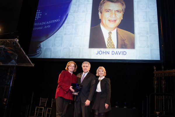 2018 Giants of Broadcasting honoree John David