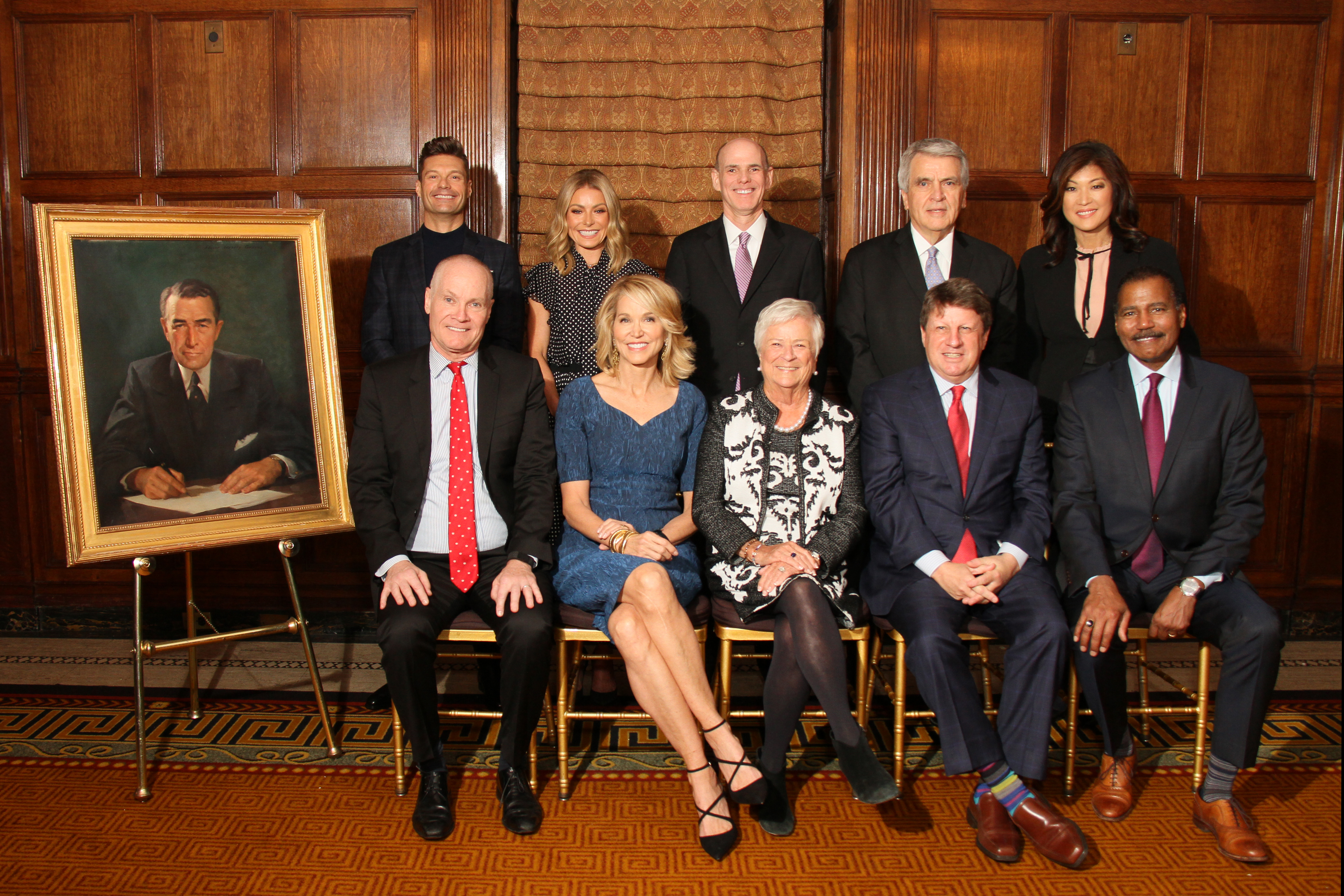 2018 Giants of Broadcasting honorees group shot
