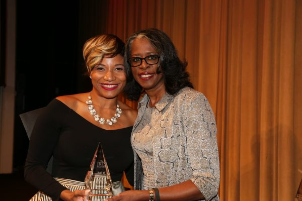2018 Hall of Mentorship Honoree Angela Talton & her presenter, Lori Hall