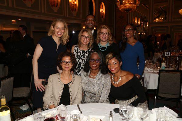 2018 Hall of Mentorship Honoree Angela Talton & table of friends