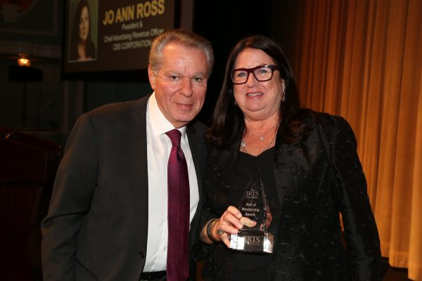 2018 Hall of Mentorship Honoree Jo Ann Ross & her presenter, Irwin Gotlieb