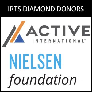 2019 IRTS Diamond Donors, Active International & the Nielsen Foundation