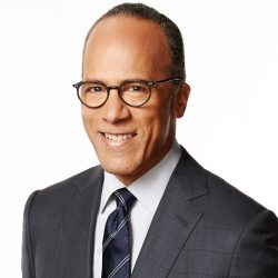 Lester Holt, a 2019 Giants of Broadcasting Honoree