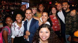 IRTS Fellowship alumni at the Summer 2019 Alumni Meet Up- NYC