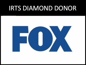 Logo of 2020 IRTS Diamond Donor, FOX